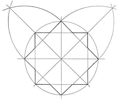 Rosace octogonale
