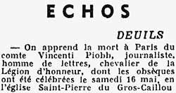 Journal Le Matin du jeudi 21 mai 1942, édition de 5H