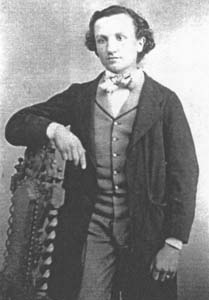 Alphonse Chenevier à l'âge de 20 ans (image donnée par M. Paul Chenevier)