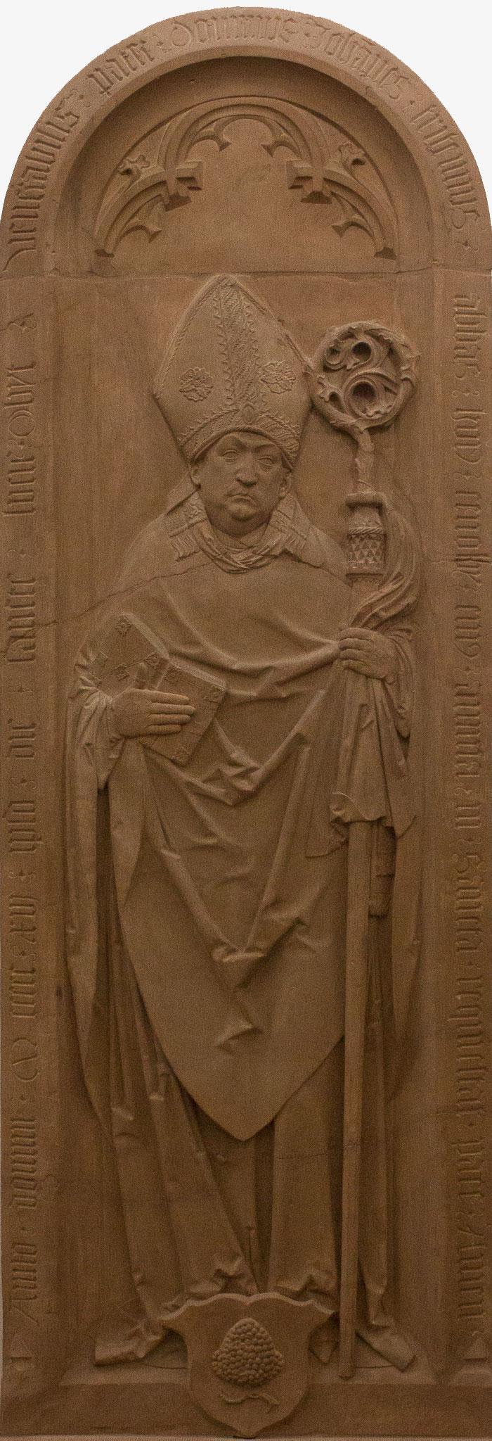 Pierre tombale de Jean Trithème