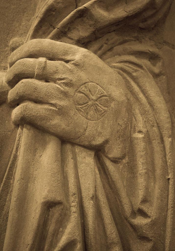 Main gauche de Jean Trithème